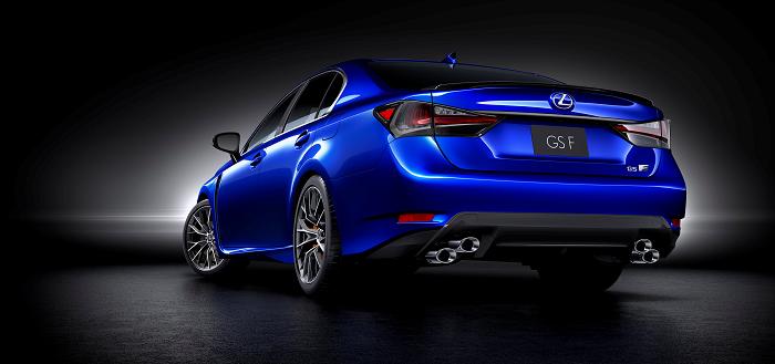Lexus GS-F - rear