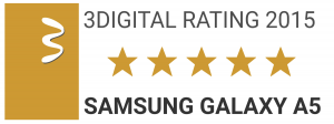 3DIGITAL RATING SAMSUNG GALAXY A5
