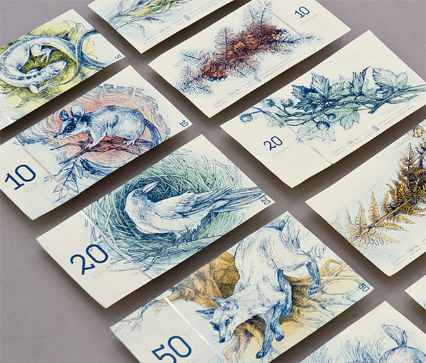 redizajn bankoviek euro barbara bernat 3digital