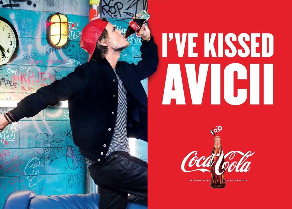 Coca-Cola a Avici (foto: Coca-Cola)