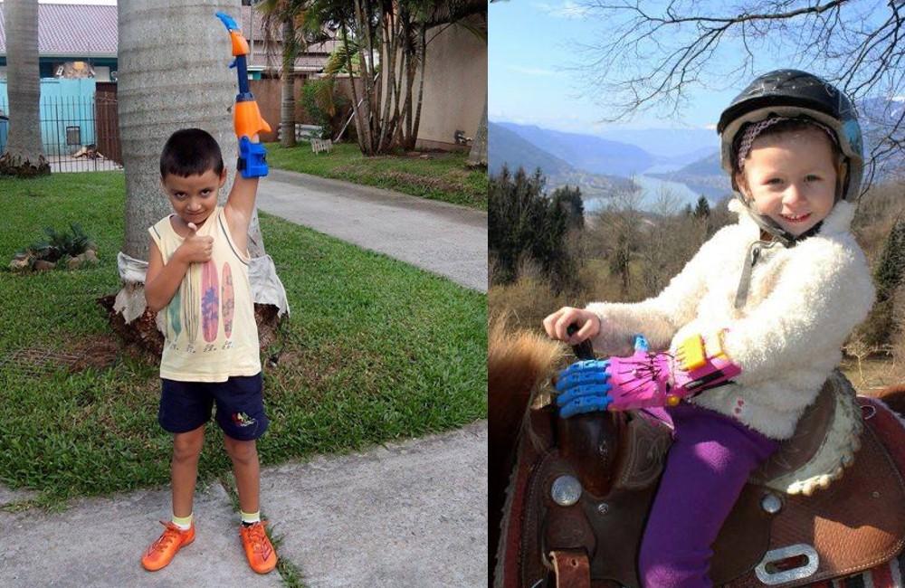 Funkčné protézy z 3D tlačiarne umožňujú deťom žiť plnohodnotnejšie (enablingthefuture.com)