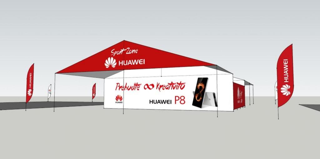 Stánok Huawei na Bažant Pohoda 2015
