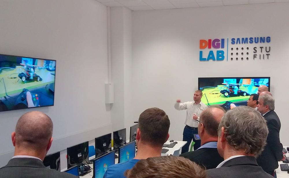 Prezentácia projeku v STU Samsung DIGILAB (foto: 3Digital.sk)