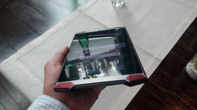 Tablet ACER PREDATOR s HD displejom a herným výkonom (foto: 3digital.sk)