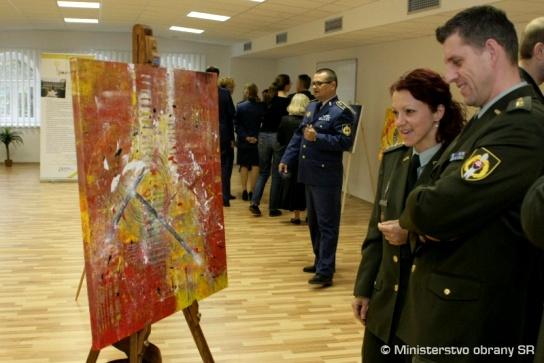 Výstava na Ministerstve obrany SR