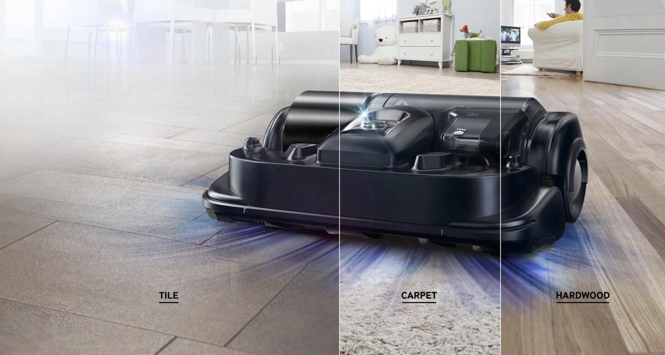 Konkurencia pre robotick vys va e lg je samsung powerbot for Hardwood floors hurt feet