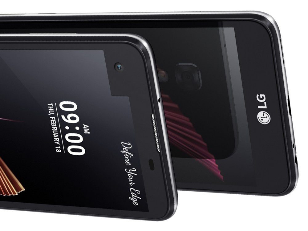 LG X Screen a LG X Cam