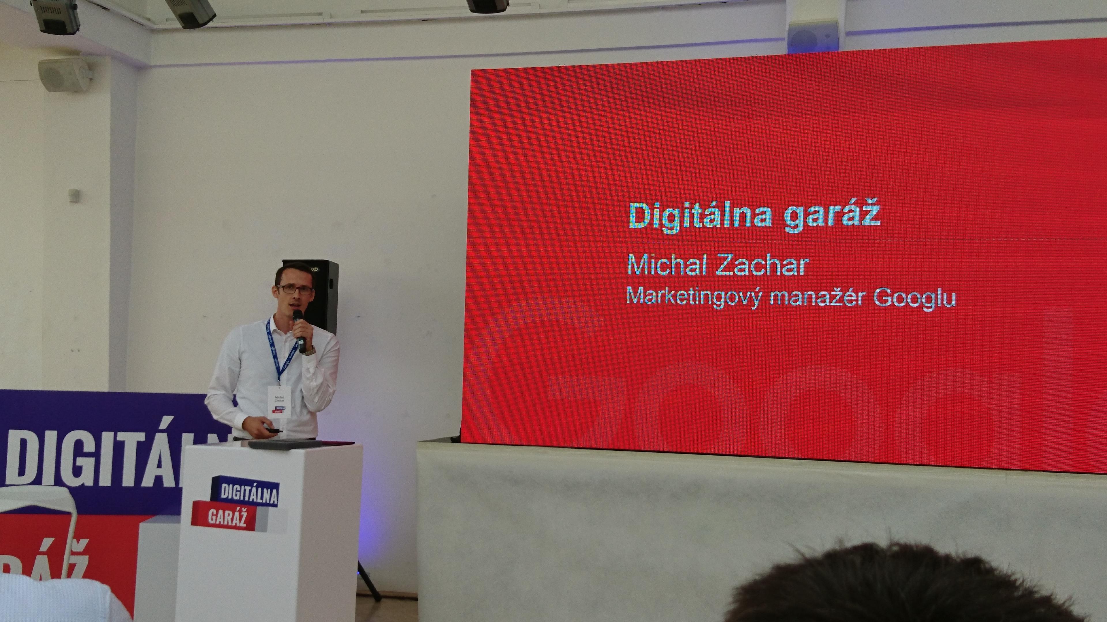 Michal Zachar, marketingový šéf slovenského Google