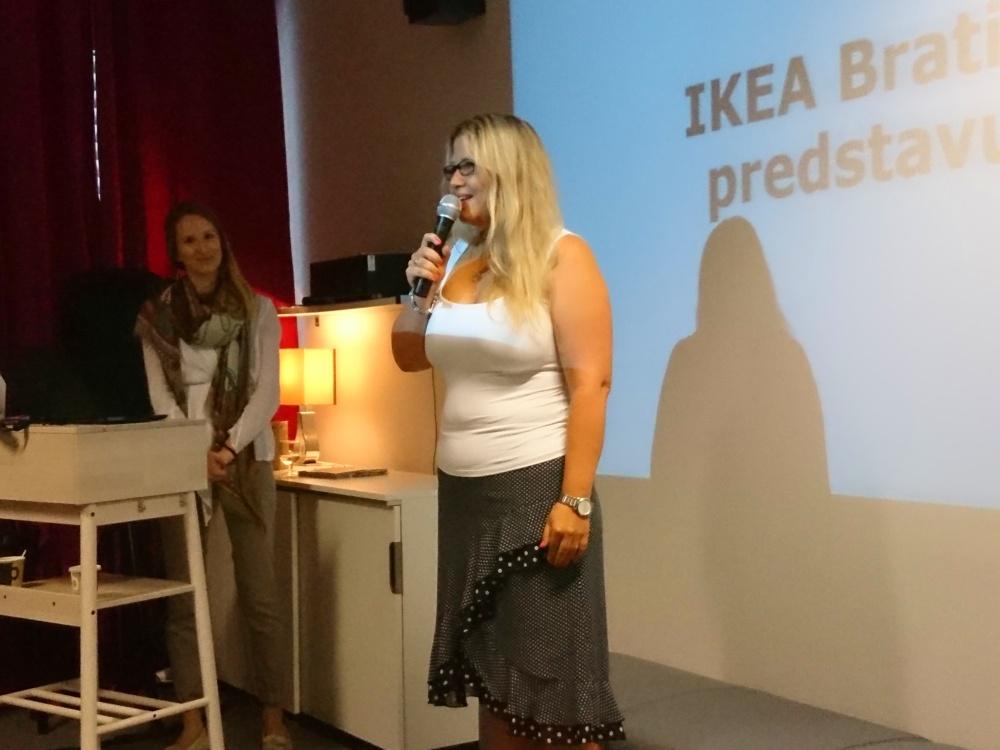 Soňa Knaiflová, nová riaditeľka obchodného domu IKEA v Bratislave