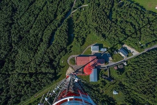 Vysielač Kremnica - Suchá Hora, ktorý sa predstavuje v rámci projektu Dobrý signál
