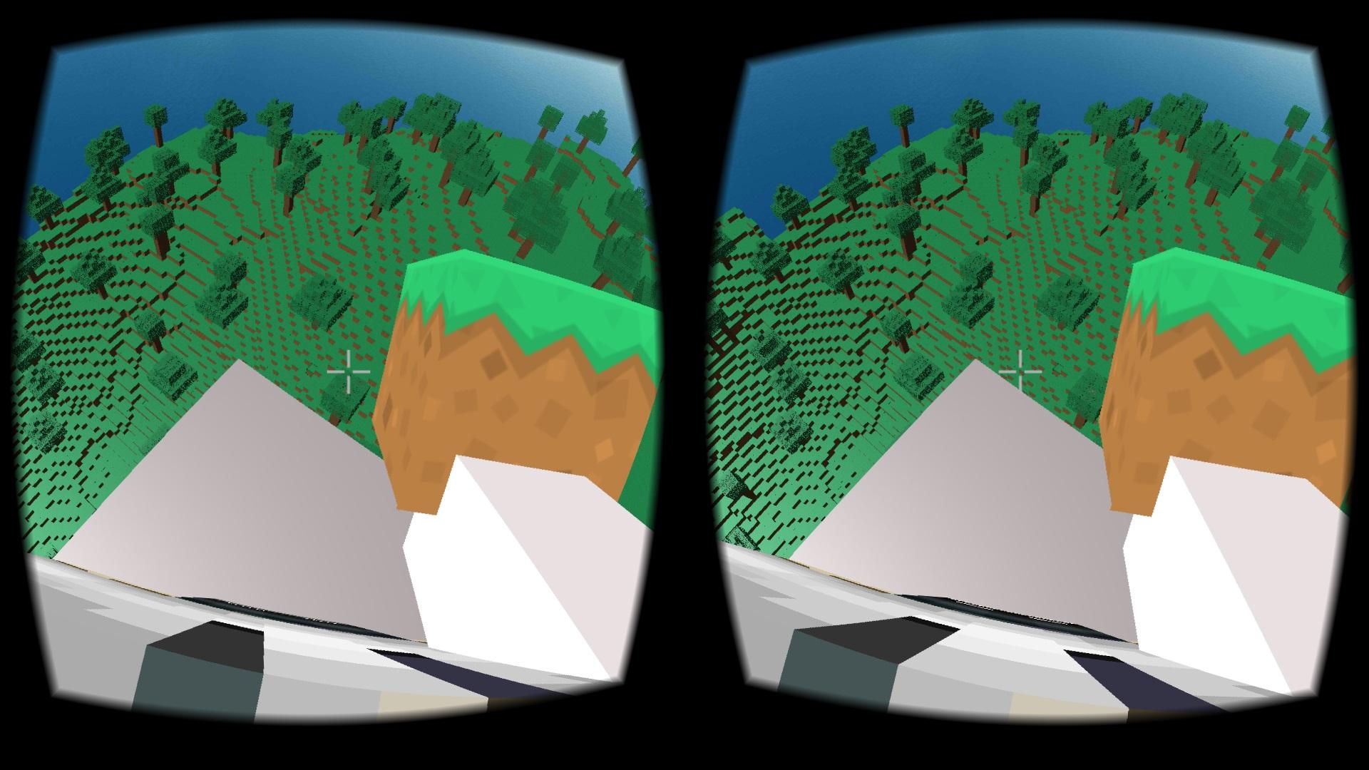 Screenshot aplikácie VR Craft pre Android